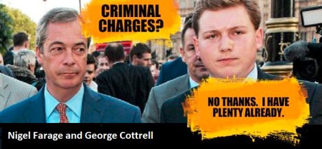 More UKIP fraud: #Farage office-manager plea-bargains away 20 charges, cops  to 1