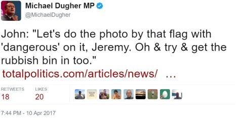 dugher fake news photo