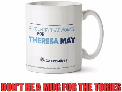 tory mug