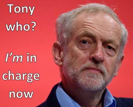 corbyn in charge