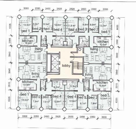 grenfell floorplan